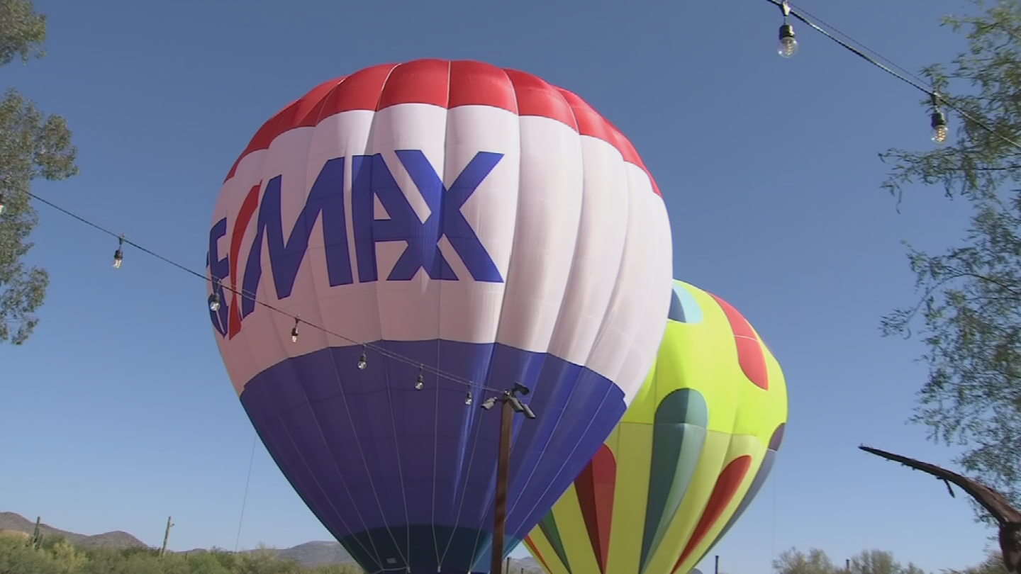 The ninth annual Cave Creek Balloon Festival is making its return at Rancho Manana Golf Course on Saturday, May 26. (Source: 3TV/CBS 5)