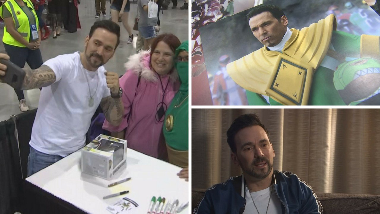 Actor Jason David Frank was targeted by a deranged fan during 2017 Comicon event. (Source: 3TV/CBS 5 News)