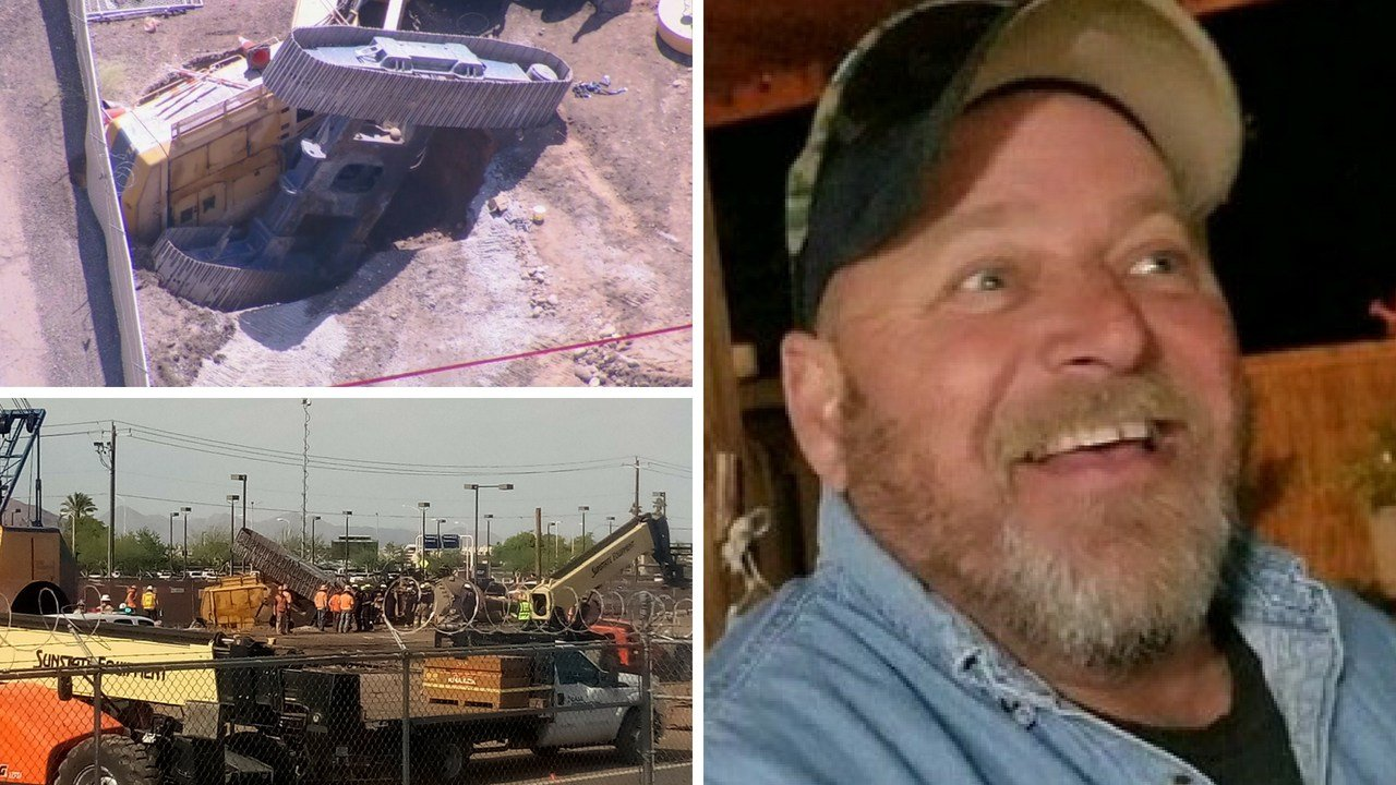 Construction worker Wayne Self was killed in a drill rig accident last Monday. (Source: 3TV/CBS 5 News)