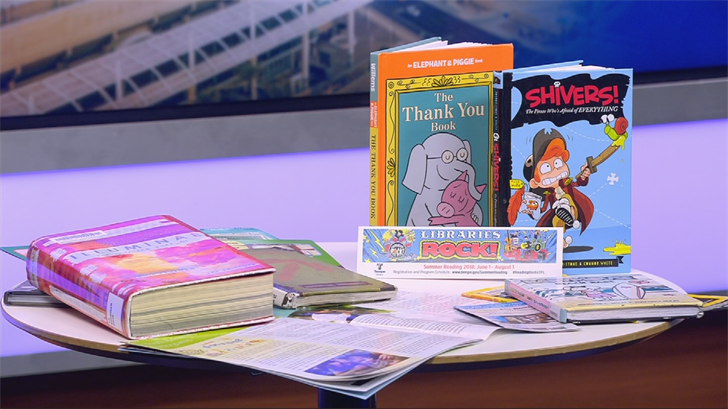 The best way to avoid the learning slide during the summer is to read. (Source: 3TV)