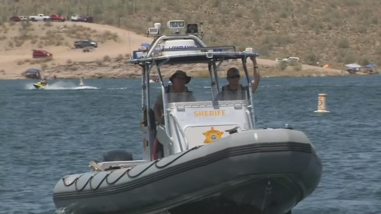 MCSO said several lakes were at capacity. (Source: 3TV/CBS 5)