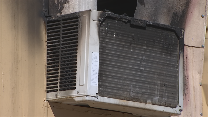 Investigators believe it started with the air conditioning unit. (Source: 3TV/CBS 5)
