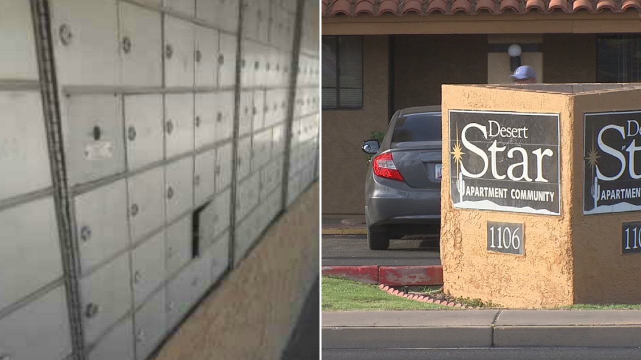 People at a north Phoenix apartment complex said they aren't getting their mail and the management is blaming the post office. (Source: 3TV/CBS 5)