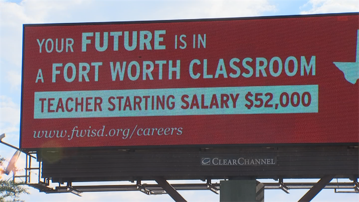 The Fort Worth Independent School District is trying to get Arizona teachers to come to Texas. (Source: 3TV/CBS 5)