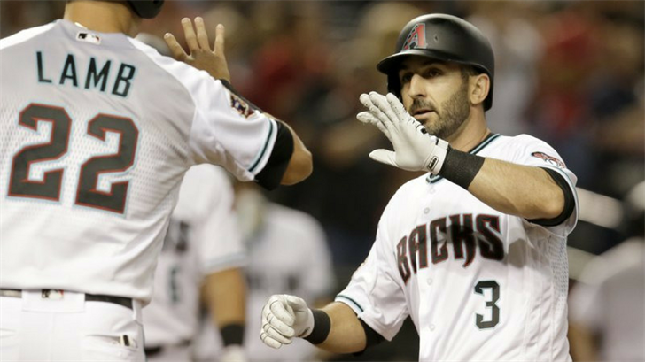 The Arizona Diamondbacks bashed the ball around the yard in their series opener against Cincinnati. (Source: AP Photo)