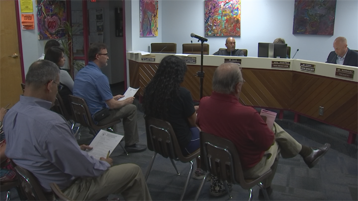 Antoinette Contreras attended a school board meeting to get answers. She says a teacher did nothing when her daughter was punched by another student in class. (Source: 3TV/CBS 5)