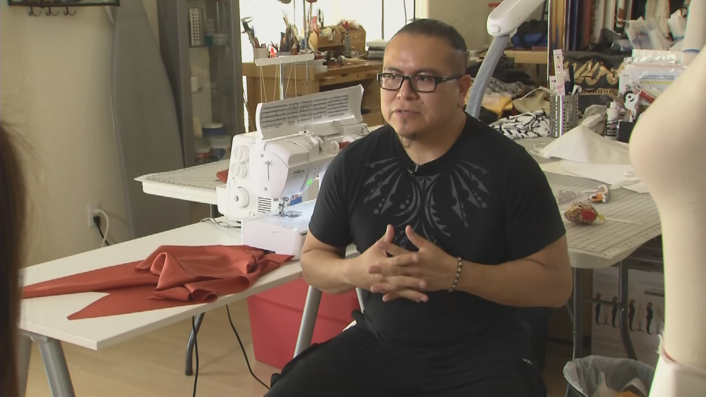 The former mechanical engineer left his job two years ago to pursue his fashion business full-time. (Source: 3TV/CBS 5)