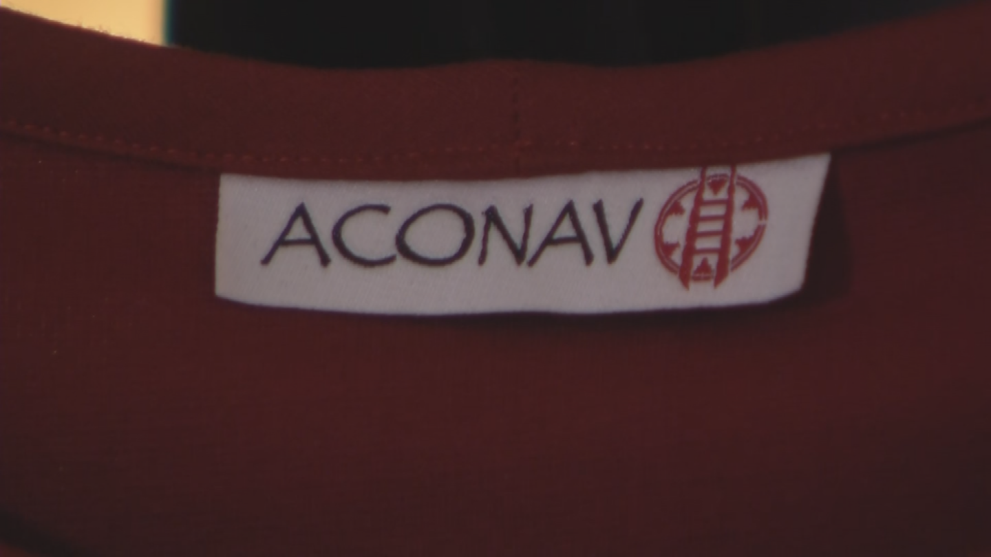 His fashion brand name, ACONAV, is a blend of words between Aragon and his wife Valentina's backgrounds. (Source: 3TV/CBS 5)
