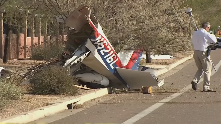 He and his friend Chandler Riesterer crashed their plane back in August. (Source: 3TV/CBS 5)