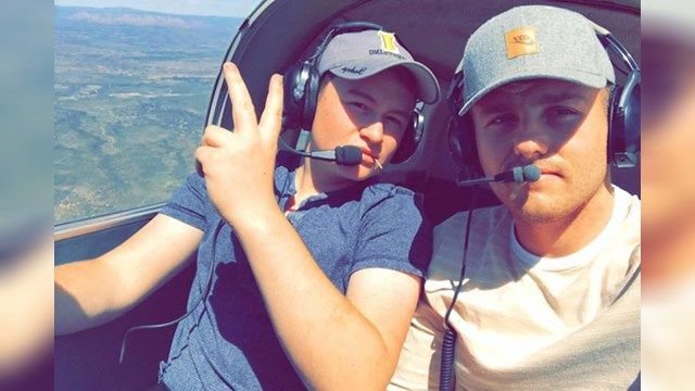 Brody Burnell, left, and Chandler Riesterer, right. (Source: GoFundMe)