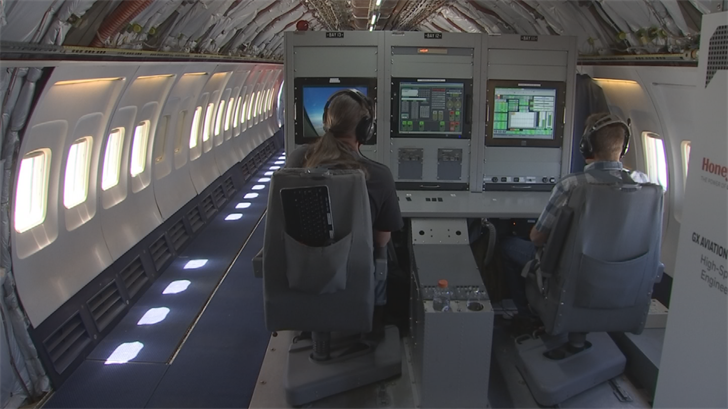 Honeywell gave Arizona's Family a behind-the-scenes look at how their pilots test the technology designed to make your flight safer and more comfortable. (Source: 3TV/CBS 5)