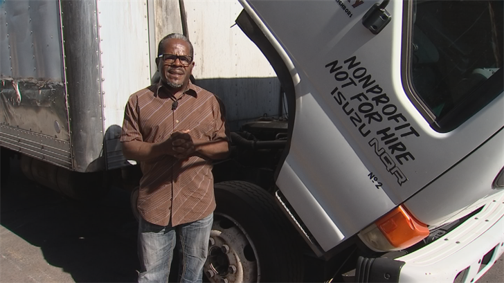 Streets of Joy is a faith-based ministry, and their refrigerated truck is a crucial part of their mission. With the truck, they're able to take food out to the streets and help families in need. (Source: 3TV/CBS 5)