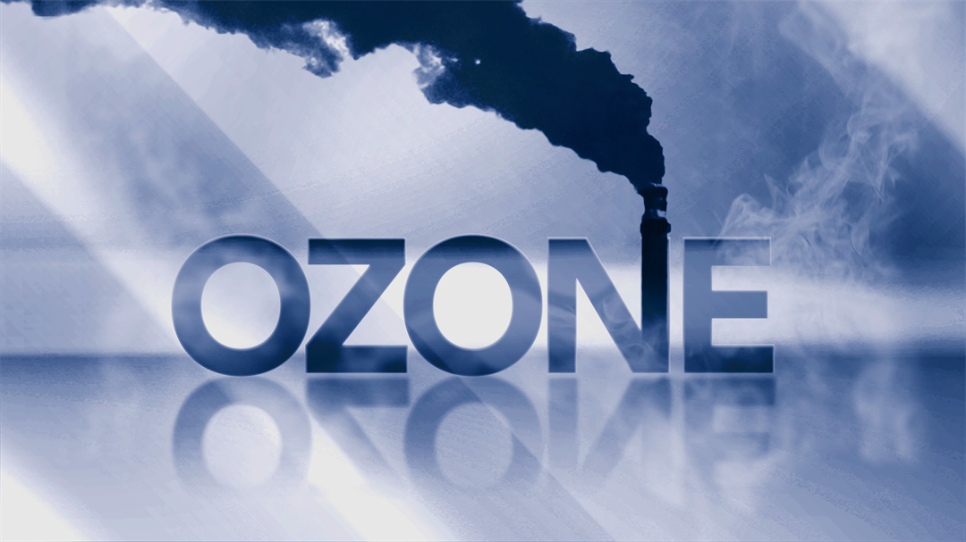 Ozone-related health problems include shortness of breath, coughing, wheezing, headaches, nausea, plus throat and lung irritation. (Source: AP Photo)