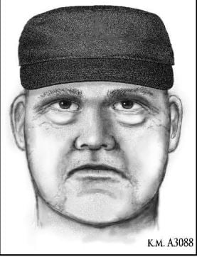 Phoenix police released a sketch of the suspect who they say shot and killed Dr. Steven Pitt Thursday night. (Source: Phoenix Police Department)
