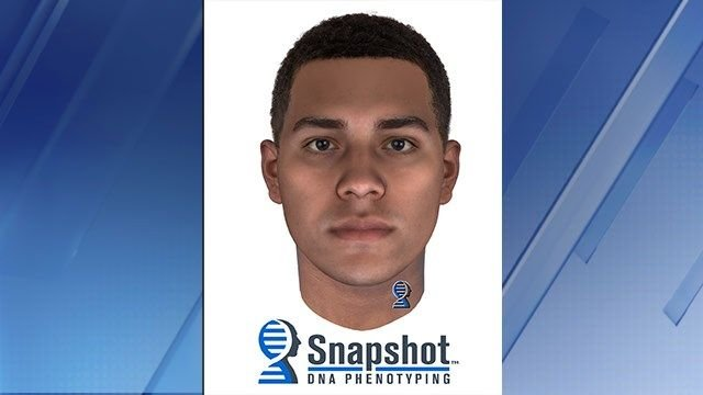In April 2017, police released a snapshot composite created by analyzing the suspect's DNA. (Source: Mesa Police Department)