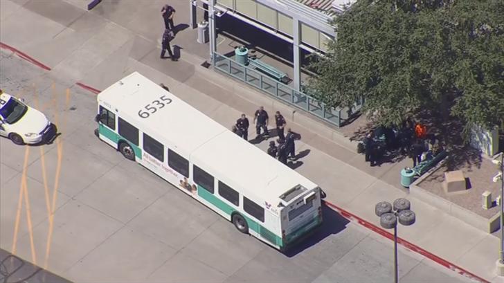 Police said the suspect had a gun. (Source: 3TV/CBS 5)