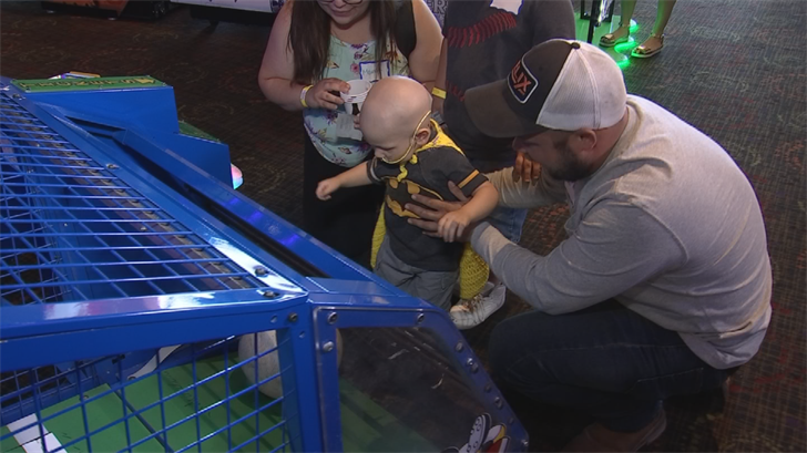 Nearly 100 kids from across the Phoenix area came together to celebrate beating cancer, all in honor of National Cancer Survivor Day. (Source: 3TV/CBS 5)