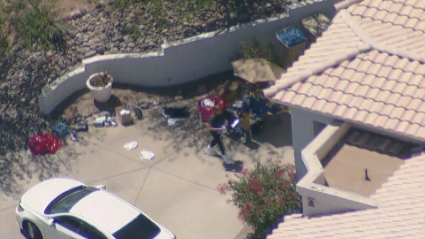 The Maricopa County Sheriff's Office was conducting an investigation at a home in Fountain Hills on Monday morning. (Source: 3TV/CBS 5)