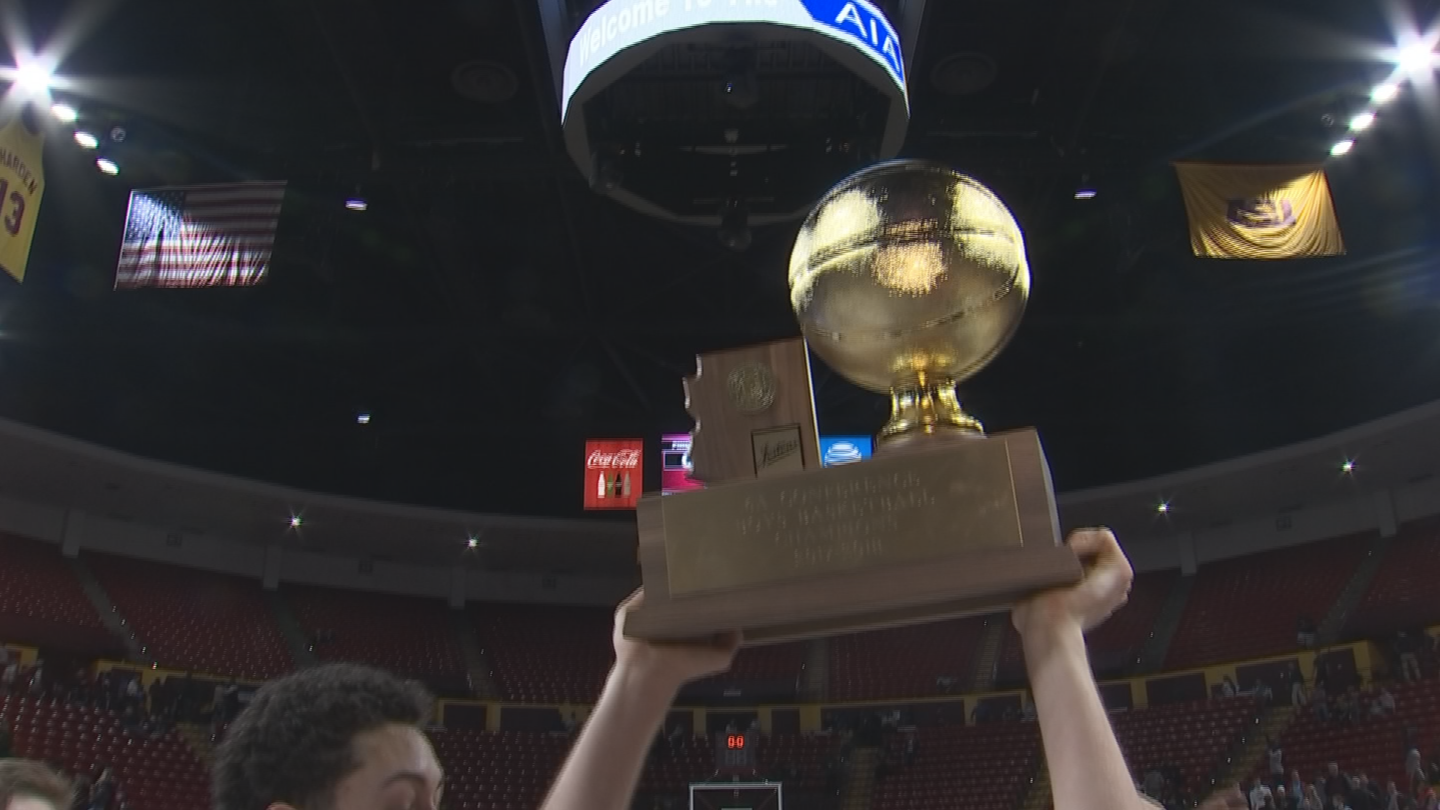 Mannion's sophomore season with the Pioneers ended with an AIA 6A state championship. (Source: 3TV/CBS 5)