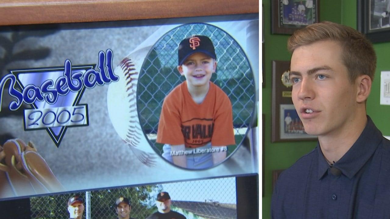Tampa Bay Rays draft local high school pitcher, Matt Liberatore. (Source: 3TV/CBS 5 News)