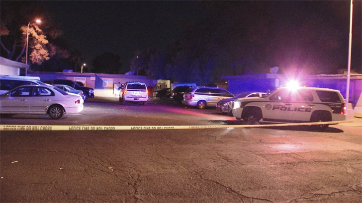 Officers responded to a shooting near 68th Avenue and Bethany Home Road just after midnight. (Source: 3TV/CBS 5)