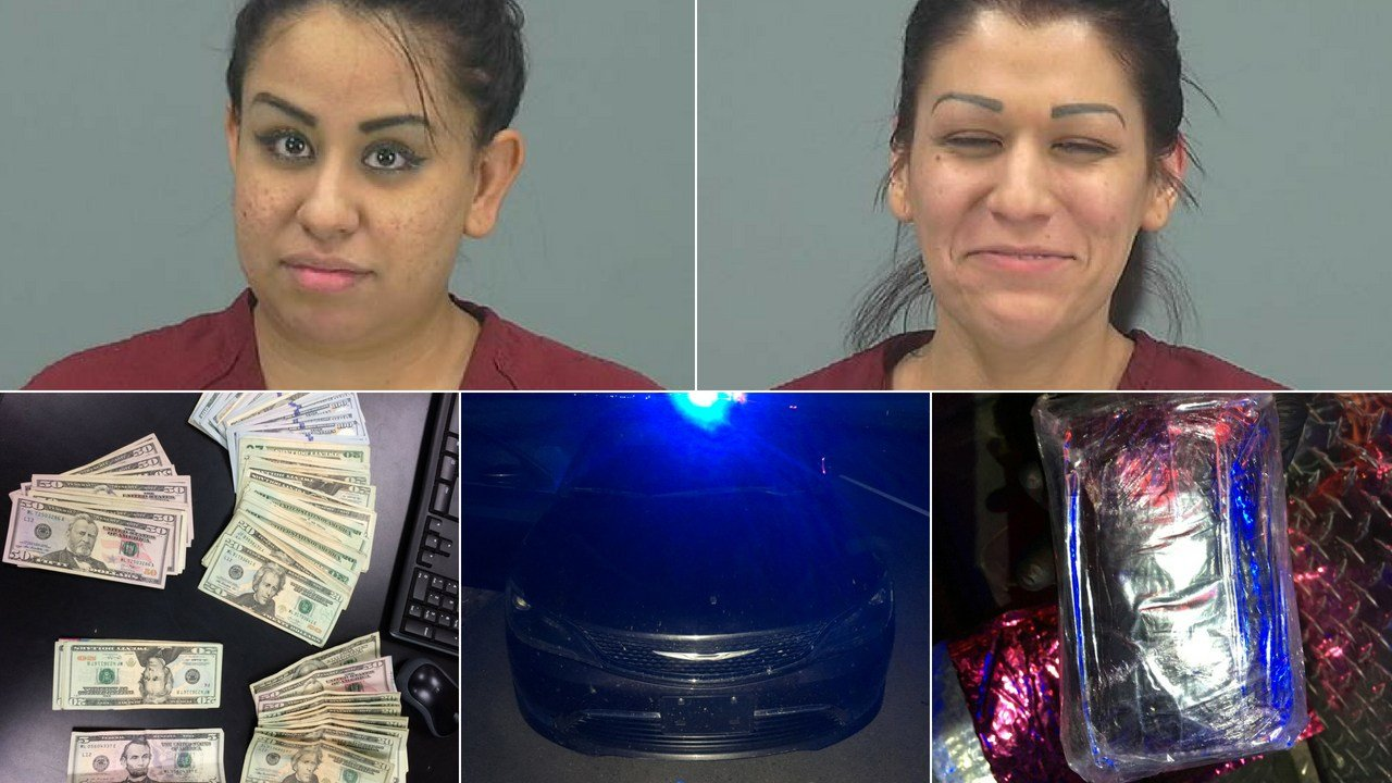 Two women were arrested after Pinal County deputies found almost $33,000 worth of heroin. (Source: Pinal County Sheriff's Office)