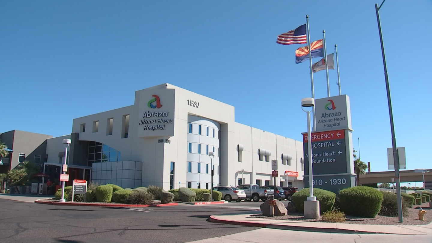 Abrazo Arizona Heart Hospital is the only hospital in Arizona and one of just 60 around the world to participate in an investigational study called the Apollo Pivotal Trial. (Source: 3TV/CBS 5)