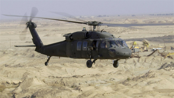 Generic picture of a Black Hawk helicopter. (Source: AP Images)