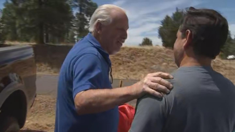 """Help somebody else, k?"" said the good Samaritan. (Source: 3TV/CBS 5)"