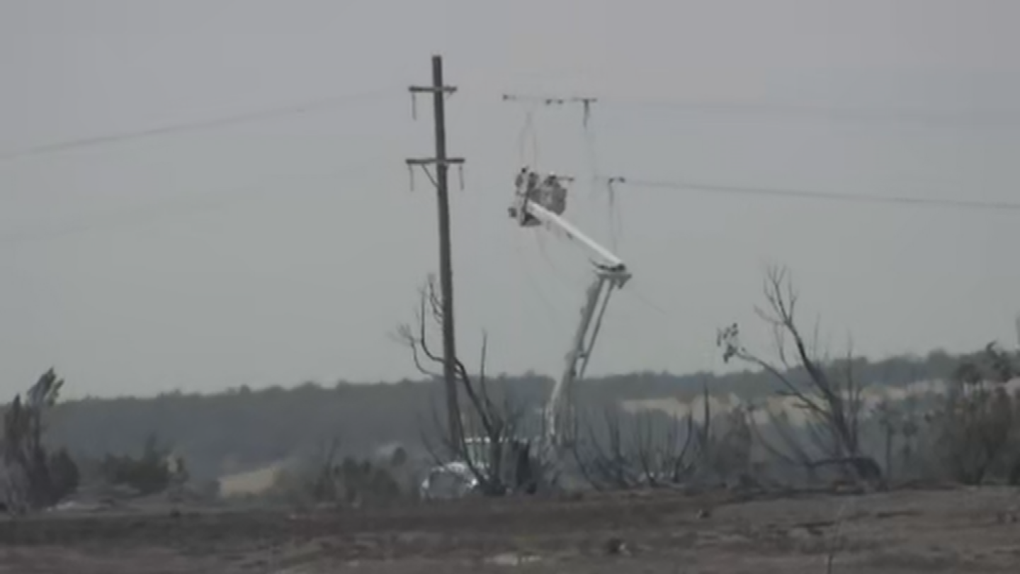 Power has been out for 97 percent of residents and businesses in Heber-Overgaard. (Source: 3TV/CBS 5)