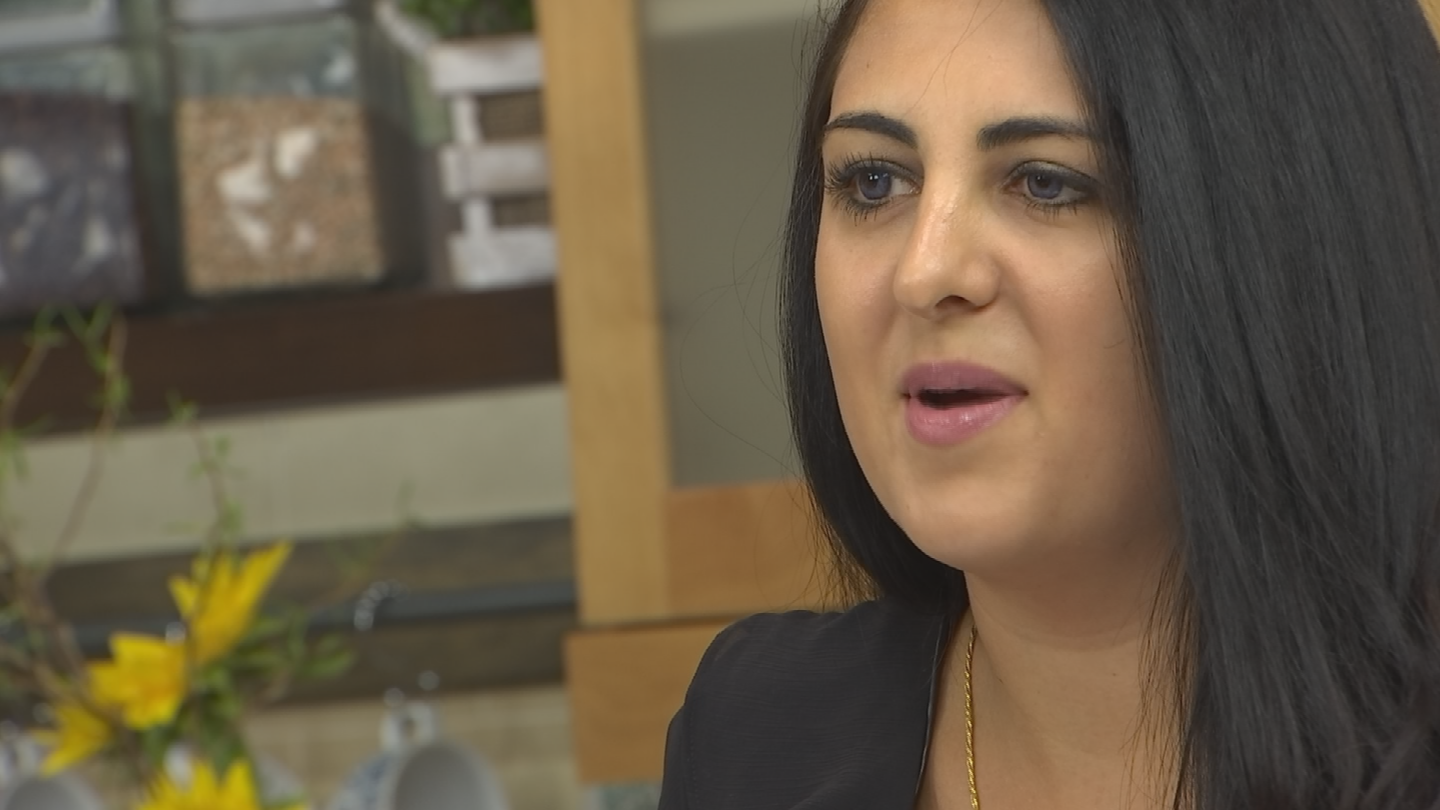 """I'm sitting here thinking about Kate Spade and just what a tragedy, and how mental health is really something that should be taken for granted,"" said Jessica Leila Adnani. (Source: 3TV/CBS 5)"