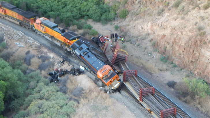 One man from Kansas was killed in the train crash. (Source: Mohave County Sheriff's Office)