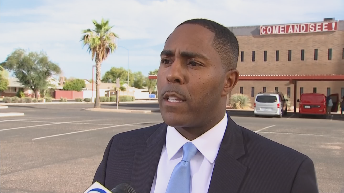 Attorney Benjamin Taylor says his client, Robert Johnson, was not a threat and had already been searched when police started punching him. (Source: 3TV/CBS 5)