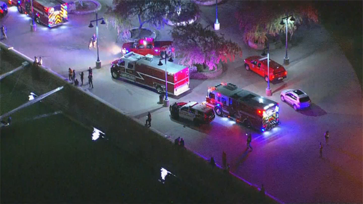 Someone called 911 to report someone who may have jumped off the bridge over Tempe Town Lake. (Source: 3TV/CBS 5)