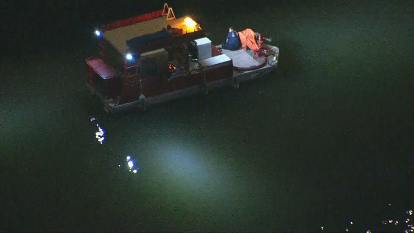 Crews continued searching through the night and resumed the search Thursday morning. (Source: 3TV/CBS 5)