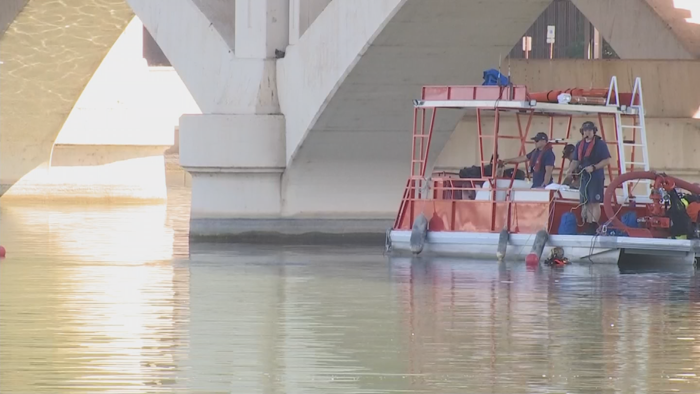 Crews found the man's body just before 10 a.m. Thursday morning. (Source: 3TV/CBS 5)