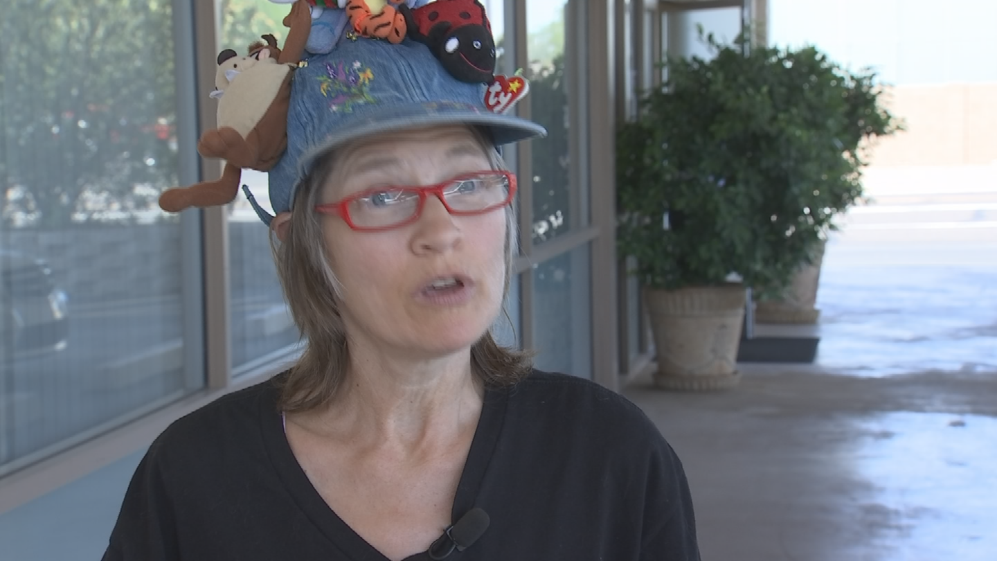 Debra Eckstein has worked with Romero over the years to help women in need and wanted to help her continue making a difference, so she reached out to CBS 5 to Pay it Forward to Romero. (Source: CBS 5)
