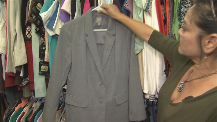The Valley mom wanted to help abused women get back on their feet, so she opened the thrift shop in Mesa. (Source: CBS 5)