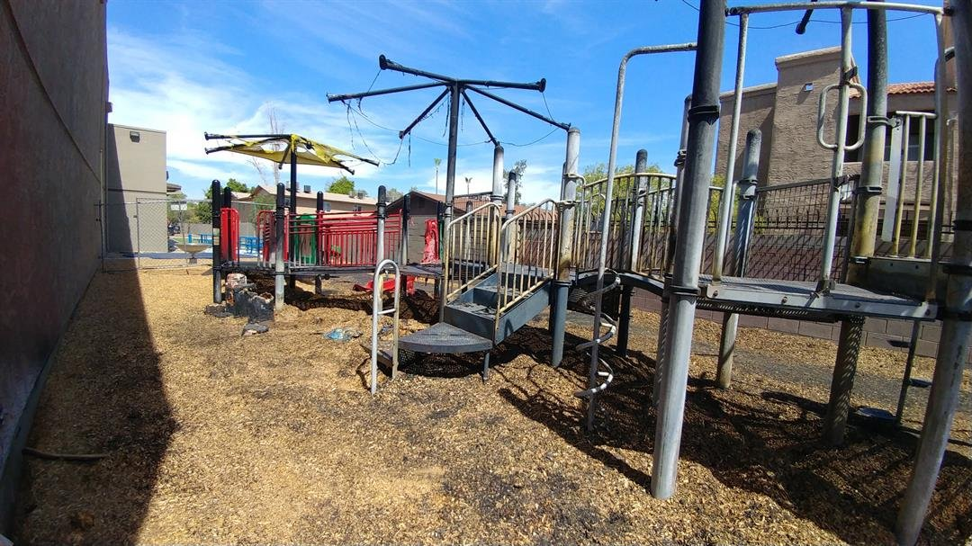 The special playground cost the center around $200,000 to build, completed only last year. (Source: ARCH)