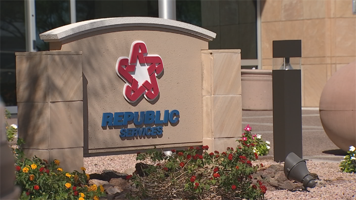 Large companies like Republic, which are based in Arizona, play an outsized role in creating high-paying jobs, because they need lots of support services like lawyers, accountants and consultants. (Source: 3TV/CBS 5)