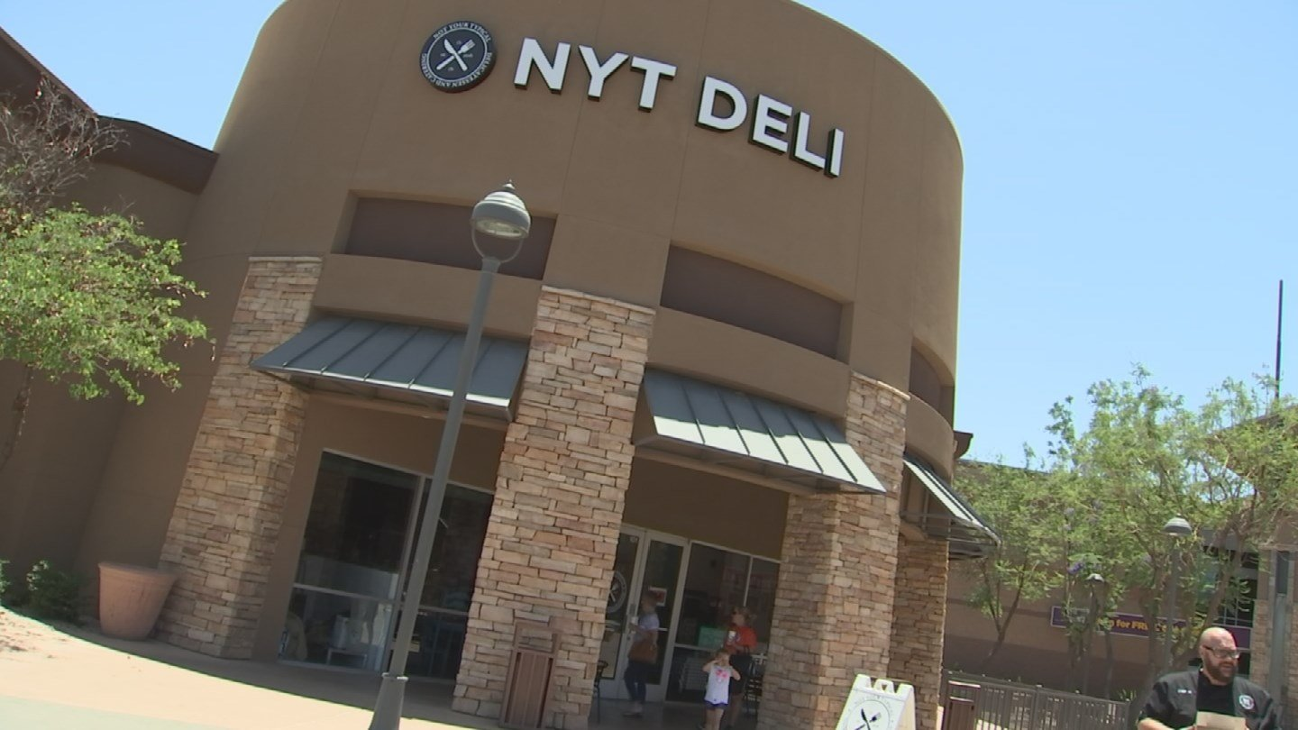 Not Your Typical Deli, Gilbert Arizona. (Source: 3TV/CBS 5 News)