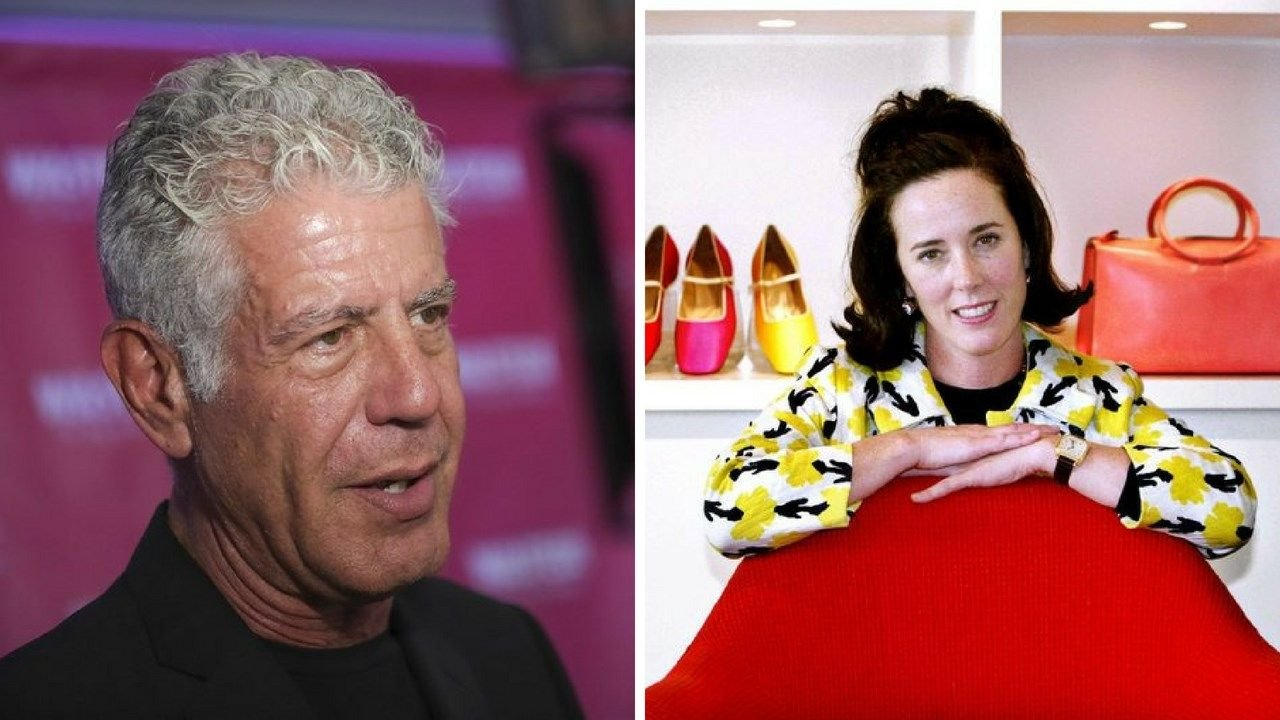 Anthony Bourdain and Kate Spade died by suicide this week. (Source: CNN)