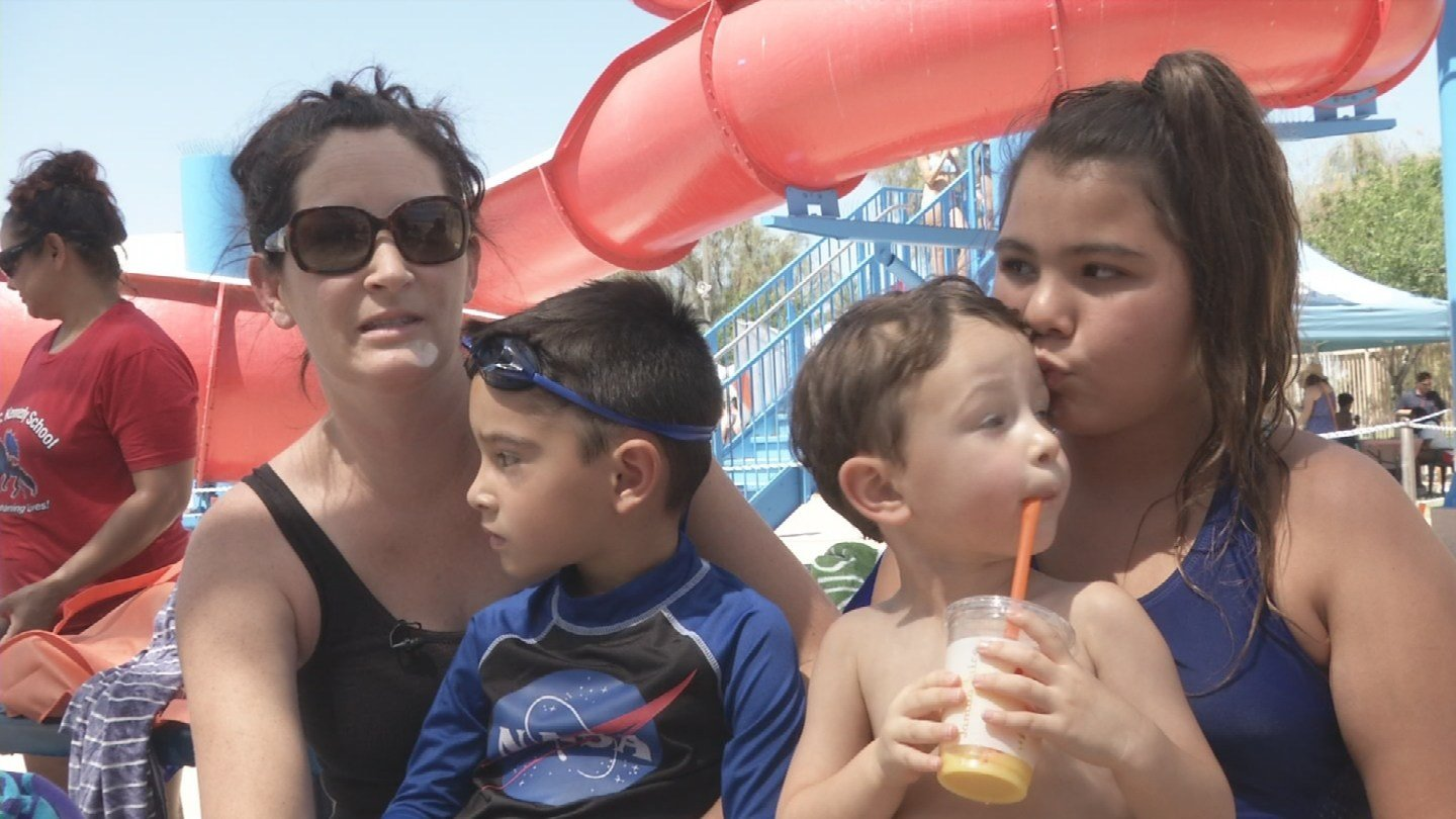 Eric Sandoval brought her family to the event. (Source: 3TV/CBS 5 News)