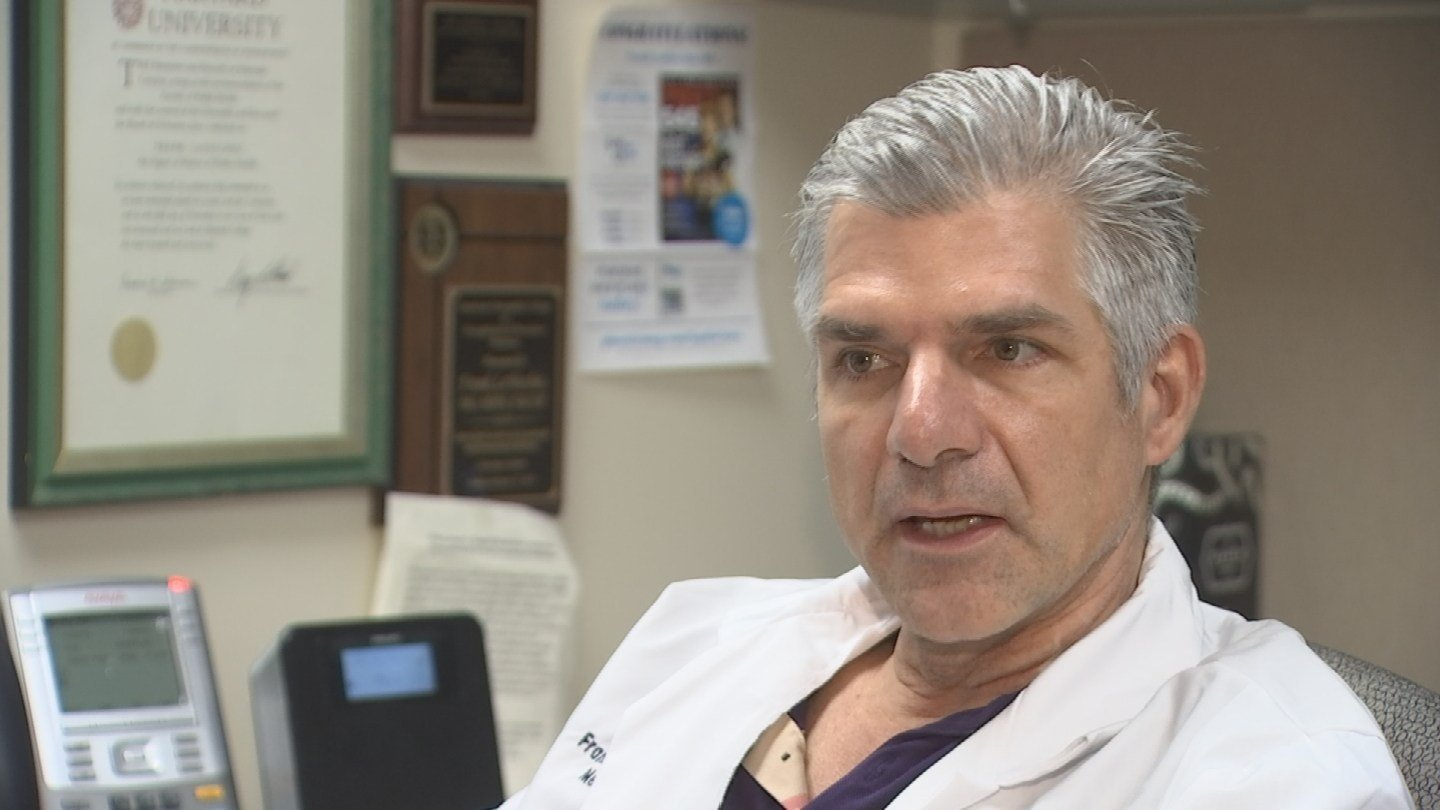 Dr. Frank LoVecchio with Banner University Medical Center. (Source: 3TV/CBS 5 News)