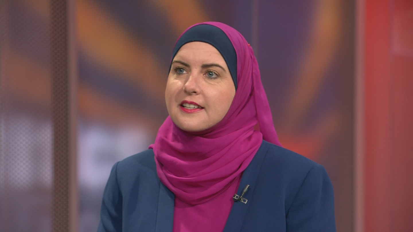 "Deedra Abboud, a Democrat running for the U.S. Senate, said enough evidence may already exist to remove President Donald Trump from office and would support impeachment proceedings ""with pleasure."" (Source: 3TV/CBS 5)"