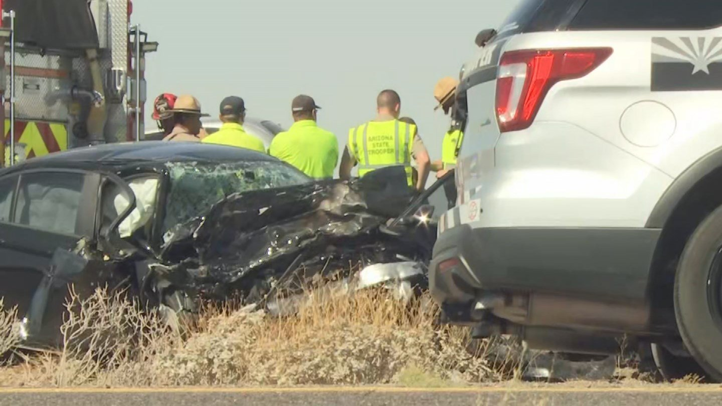 According to DPS, the wrong-way vehicle went head-on into a vehicle driving correctly in the eastbound lanesnear Milepost 187.(Source: 3TV/CBS 5)