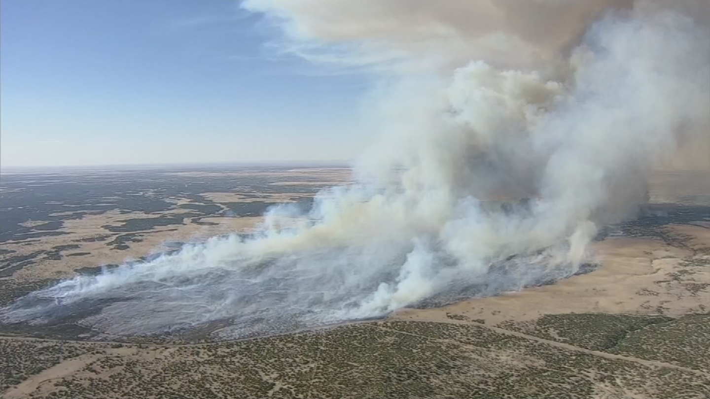 The 377 Fire remains 70 percent contained. (Source: 3TV/CBS 5)