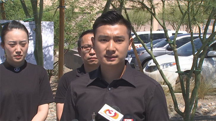 Jiang's family claims they were never notified of the plea deal and only learned about it through the news media. (Source: 3TV/CBS 5)