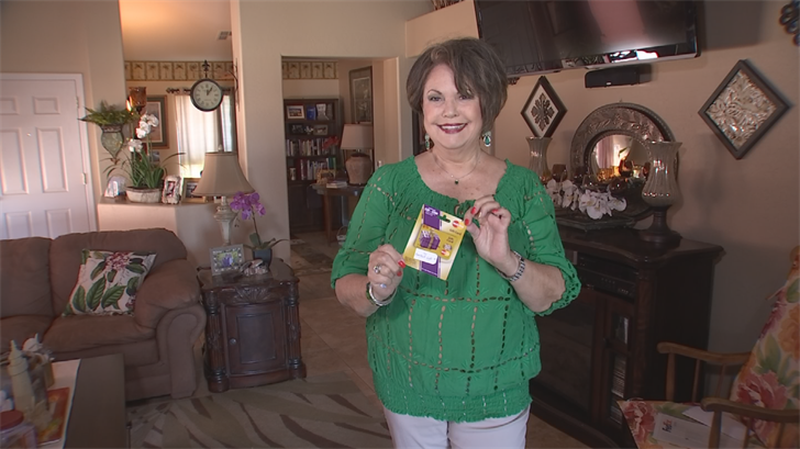 Connie Krc received new gift cards from U.S. Bank. (Source: 3TV)