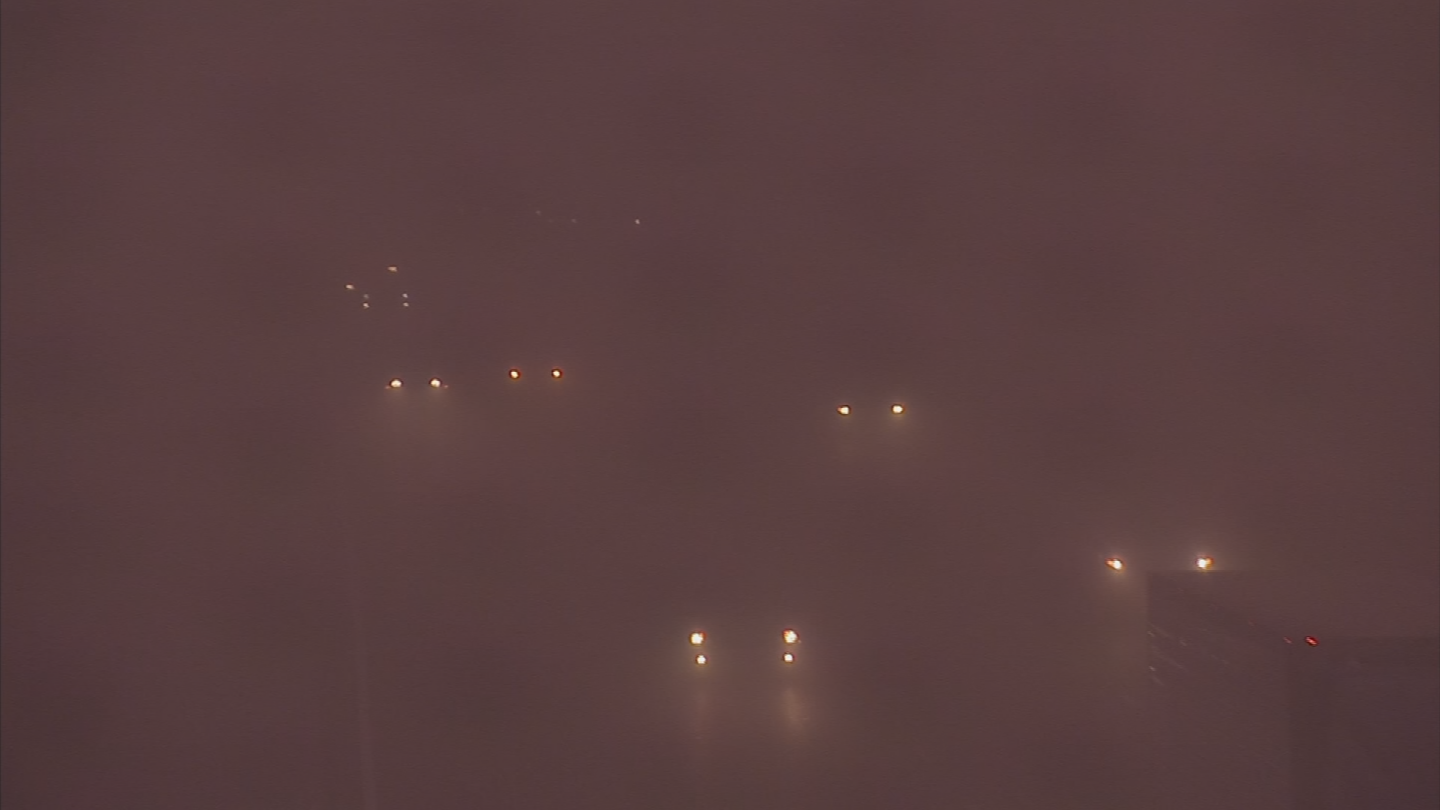 ADOT says drivers should avoid driving through a dust storm in the first place. (Source: 3TV/CBS 5)